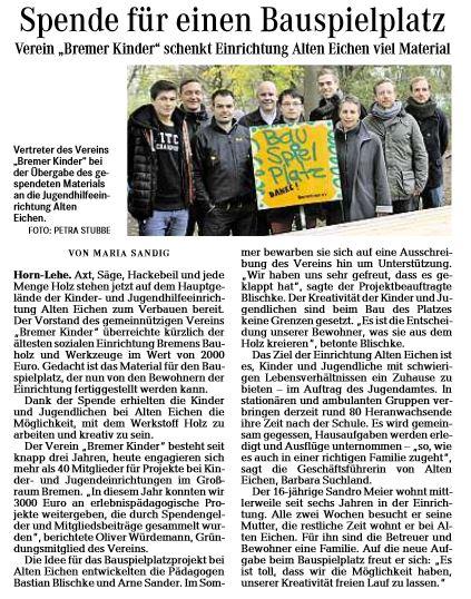Weser_Kurier_24112013_S2_SSK_NO